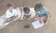 डिजीलेप व्हाट्सएप ग्रुप के माध्यम से शिक्षक करा रहे हैं शिक्षण का कार्य