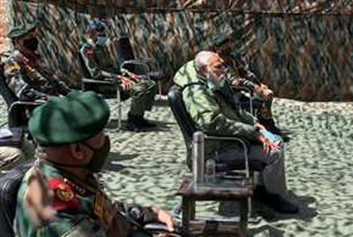 प्रधानमंत्री अचानक लेह पहुंचे / गलवान झड़प के 18 दिन बाद मोदी का लेह दौरा
