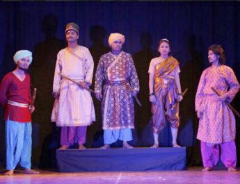नाटक तात्या टोपे का प्रदर्शन ऑनलाइन