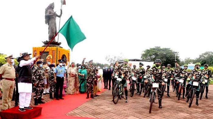सैनिक राष्ट्र का गौरव: राज्यपाल श्री पटेल